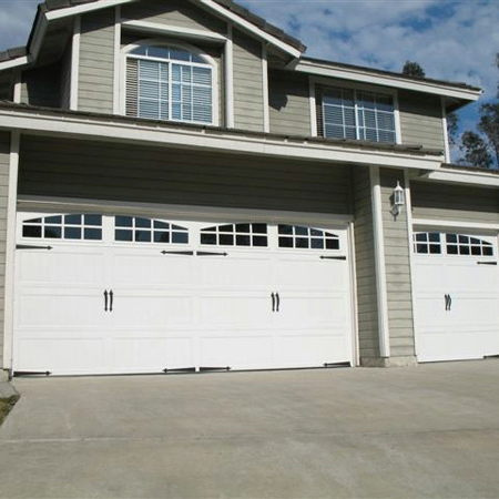 How can we repair garage door at home?