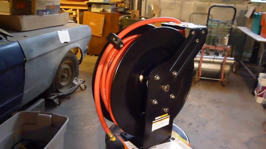 Quality Air Hose Reels For Better Organization And Convenience